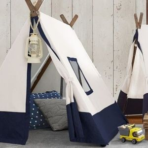 Pottery Barn A frame tent (Navy or Grey)
